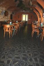Bredovský dvůr restaurant - pavement Thales Alfa 2